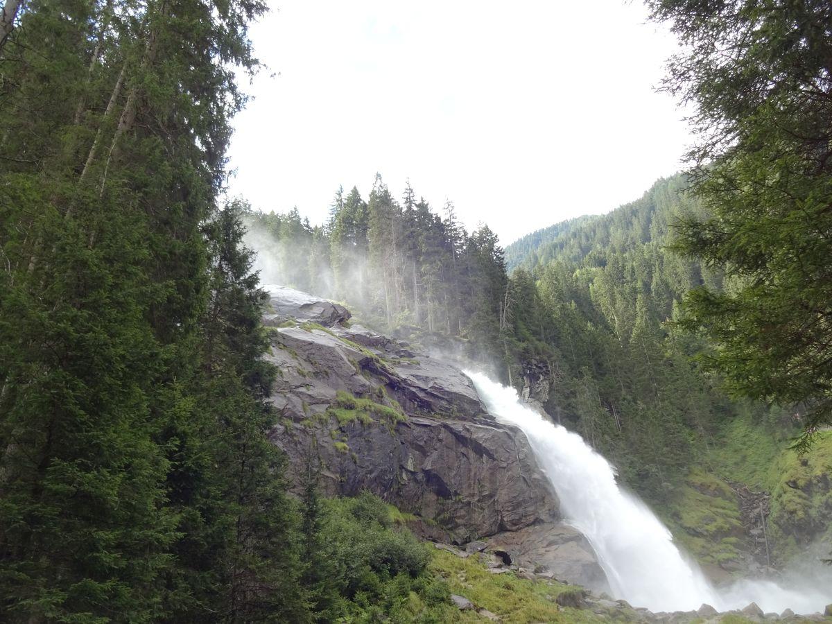 An den Krimmler Wasserfällen.