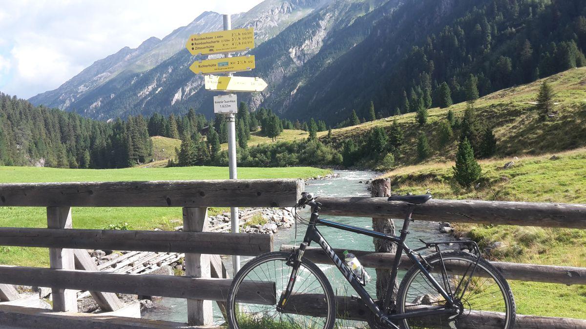 1600m - und das Rad ist noch dabei.