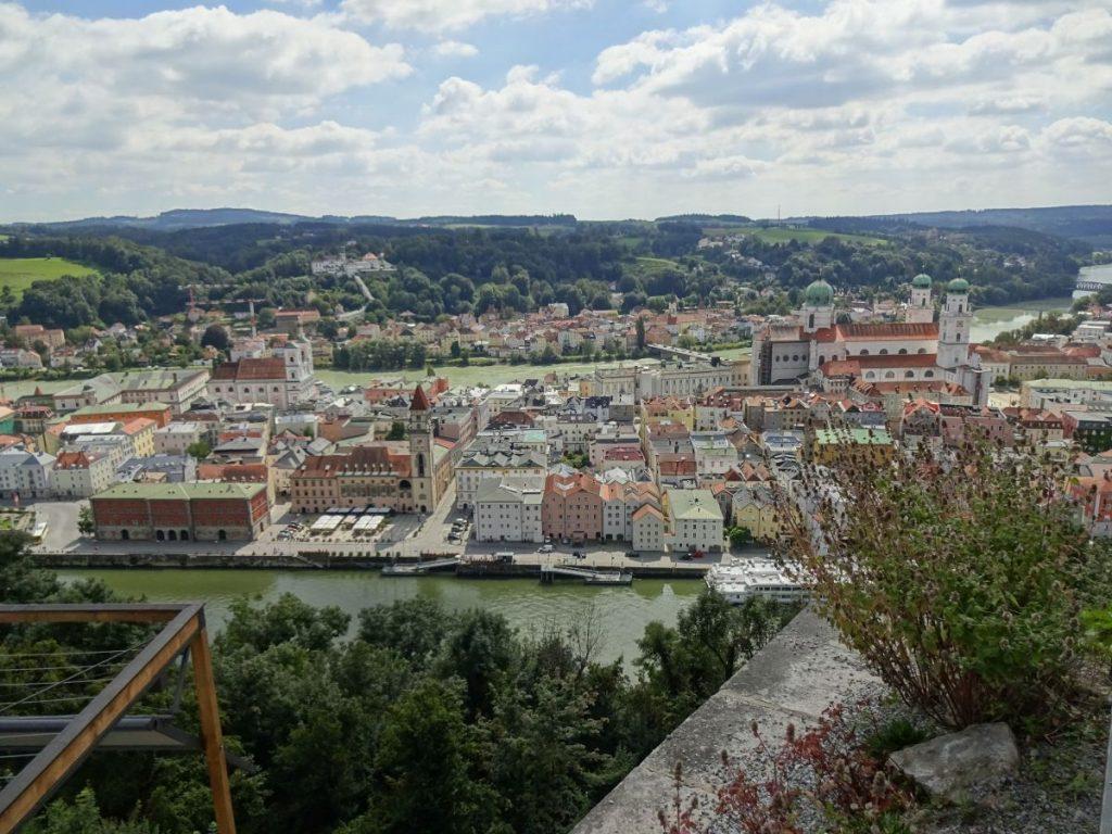 Schlussgenuss in Passau. Höchst sehenswerte Stadt und Ziel meiner Reise.