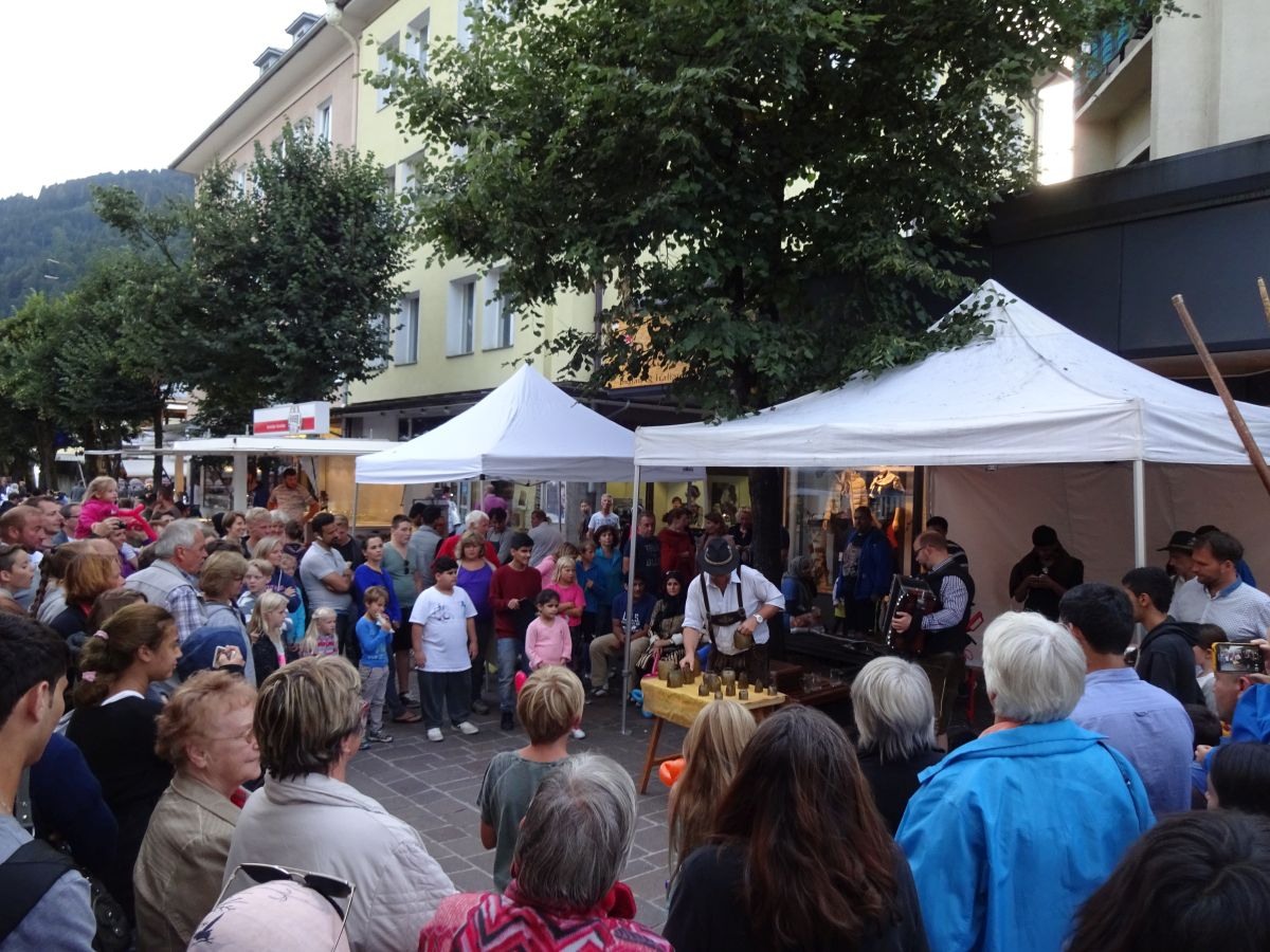 Sommernachtsfest in Zell am See.